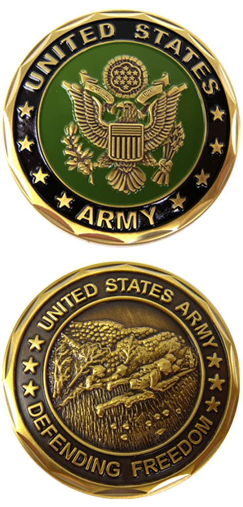 army challenge coins u s army challenge coin