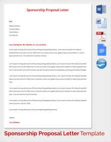 Sponsorship Resume Template by Sle Sponsorship Template 15 Documents In