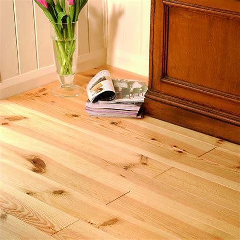 Wickes Bordeaux Pine Wood Unlacquered Flooring 22 x 120 x
