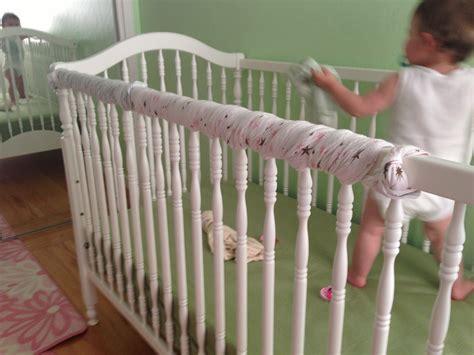 Baby Crib Teething Guard 87 Crib Edge Protector Diy Crib Rail Cover Easy Teething Guard Side Guards With Ruffles