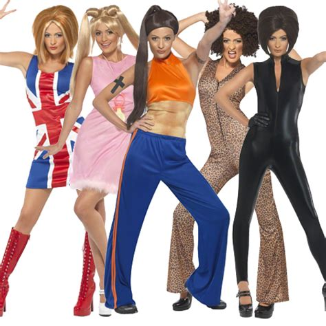 90s fancy dress costumes for girls adult spice girls fancy dress costumes outfit new girl