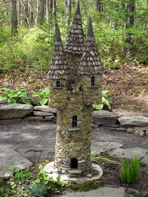 castle   woods fairy garden castle fairy garden