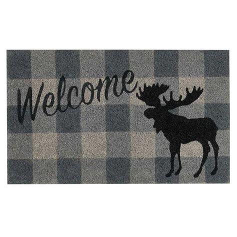 Moose Doormat by Welcome Moose Doormat Park Designs