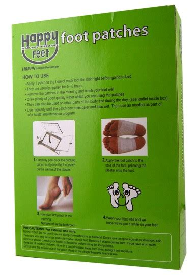 Chi Detox Foot Patches by Buy Happy Foot Patches 5 Pairs At Health Chemist