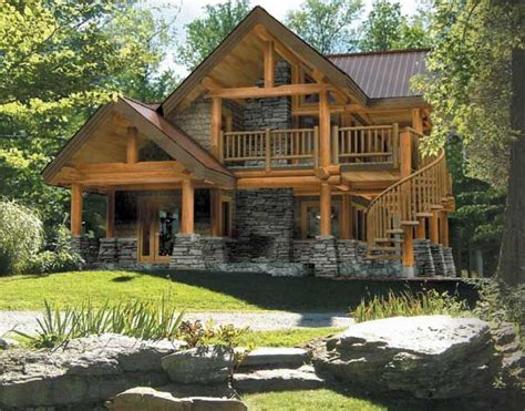 log and stone house plans 6713 best mountain cabin images on pinterest