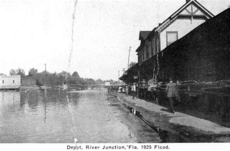 florida memory flooded railroad depot river junction