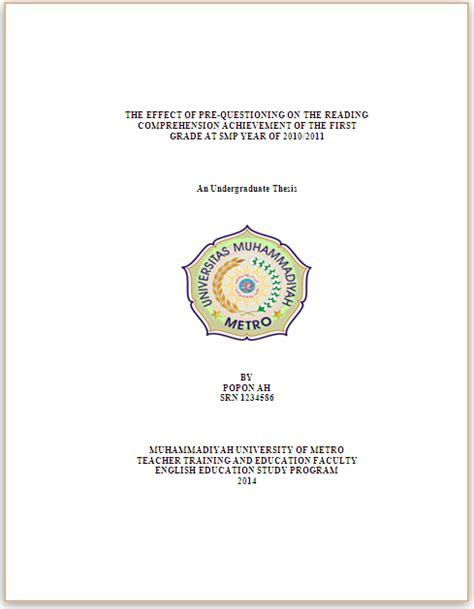 format penulisan skripsi usu contoh karya ilmiah ut akuntansi fontoh