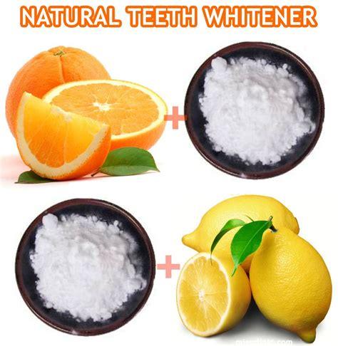 natural teeth whitening methods orange medicinal