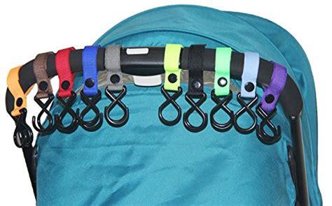 Gantungan Stroller Hook Hanger Velcro 11 hig stroller hook 10 pack of multi purpose hooks