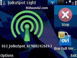 cara membuat jaringan wifi di nokia e63 cara membuat hotspot dengan nokia e63 duabelasjari