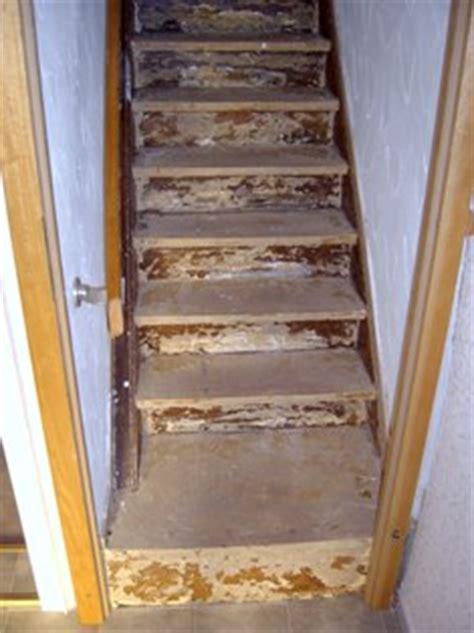 Treppe Zwischen Zwei Wänden by Treppenrenovierung