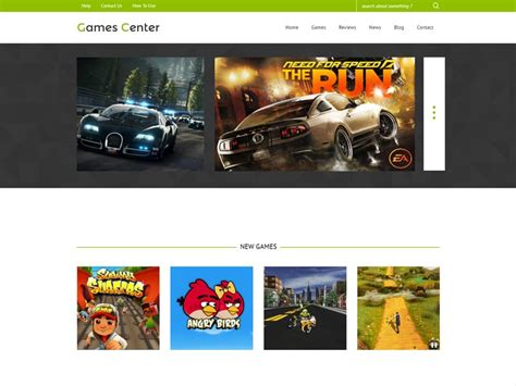 bootstrap themes free games games center free bootstrap template for game freemium