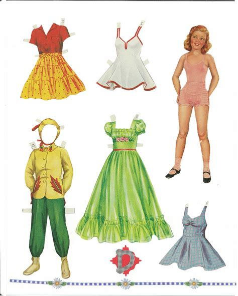 A Paper Doll - miss paper dolls sweetheart paper dolls cut