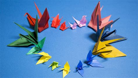 Applications Of Origami - tenzin makes 1 000 paper cranes for cancer