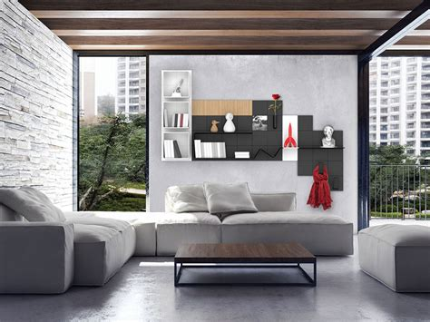 mensole per camere da letto la parete diventa custom la casa in ordine