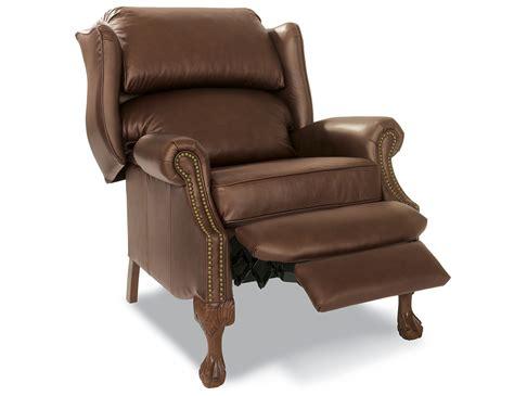 Hton Hi Leg Recliner by Steinhafels Hillsboro Pushback Leather Recliner
