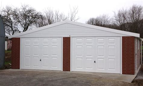 compton detached sectional garage concrete double garages for sale free quote lidget compton