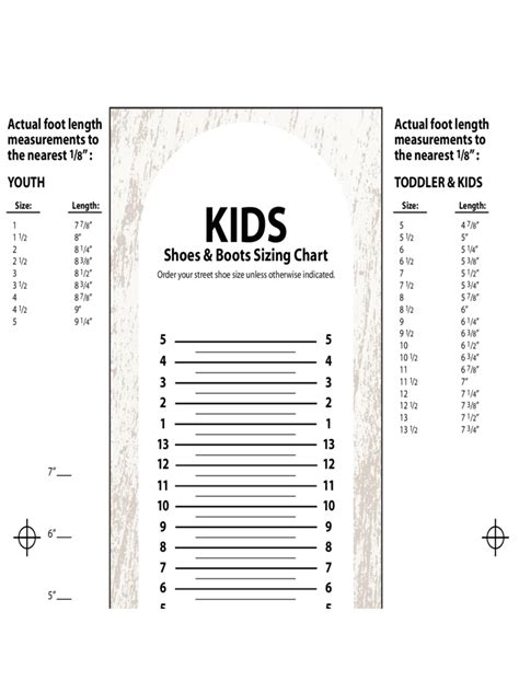 size chart template shoe size chart 10 free templates in pdf word excel