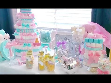 Dollar Tree Baby Shower Favors by Diy Baby Shower Decor Haul Mostly Dollar Tree