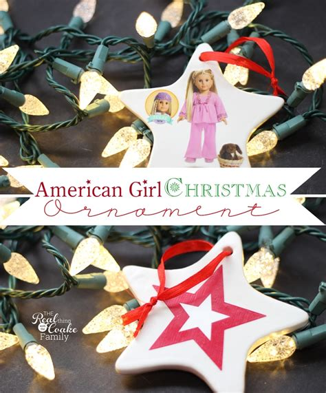 american girl crafts to make homemade christmas ornaments