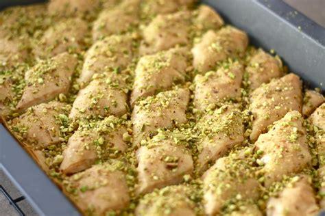 best baklava recipe traditional almond baklava wandering spice