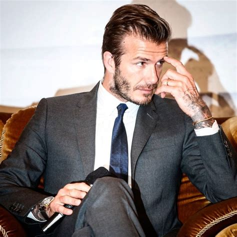 Beckham Makes Oxfam Fashionable by These Suave Pictures Of David Beckham Prove Why He Would