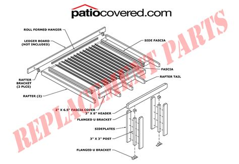 patio awning parts genuine alumawood replacement parts patiocovered com