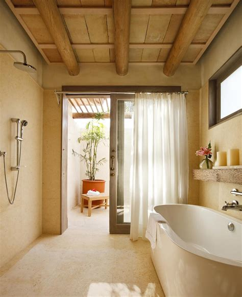 bathroom wood ceiling ideas 10 astonishing tropical bathroom ideas that you must see today