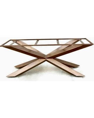 metal table l bases amazing deal on modern dining table or conference table