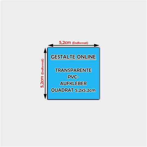 Aufkleber Gestalten Transparent by Transparente Pvc Aufkleber Online Gestalten Quadratisch 5