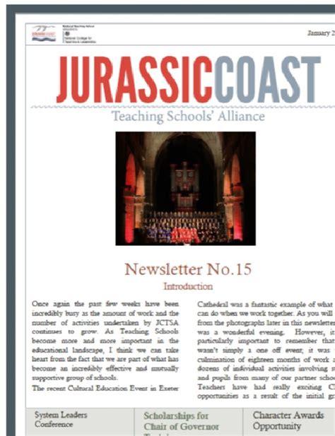 College Newsletter Sles january 2015 newsletter jurassic coast teaching schools
