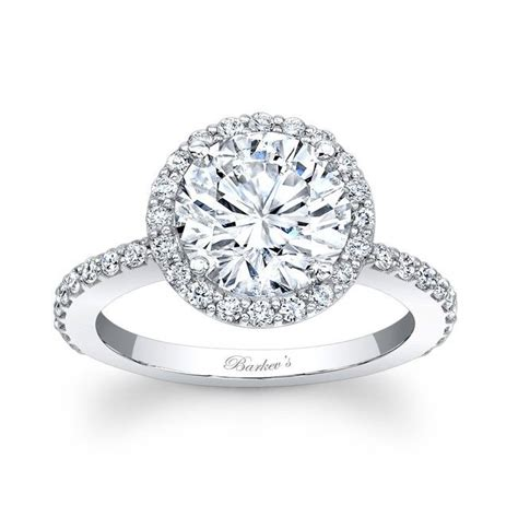 1000 ideas about halo engagement rings on