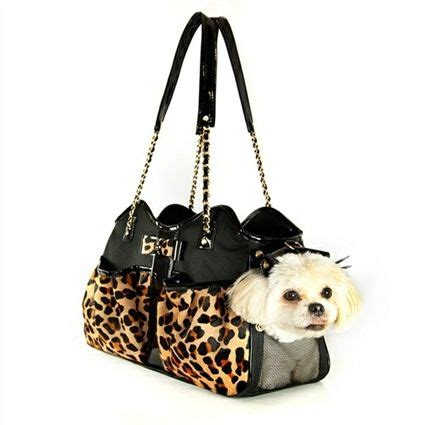 carriers that look like purses carrier purse and the leopard on