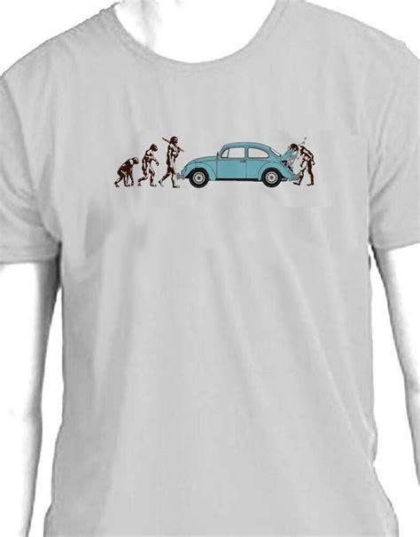vw volkswagen beetle evolution  man breakdown  shirt ebay