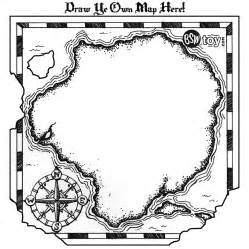 blank pirate map template treasure hunt map template clipart best