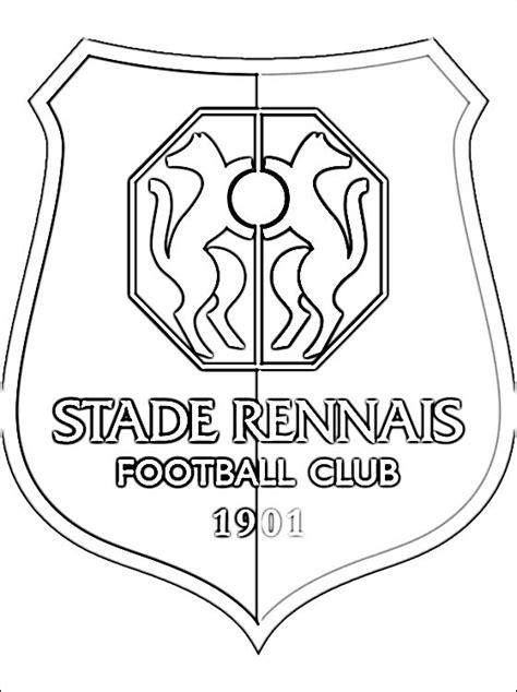 Coloriage De Foot De Rennes Fc Barcelone Coloriage L