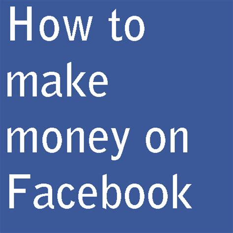 How Do People Make Money Online - help online marketers how do people make money from facebook groups pages