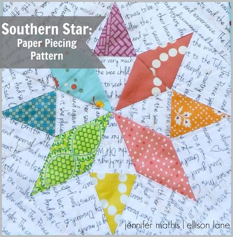 How To Make Paper Piecing Patterns - 25 best ideas about paper piecing patterns on