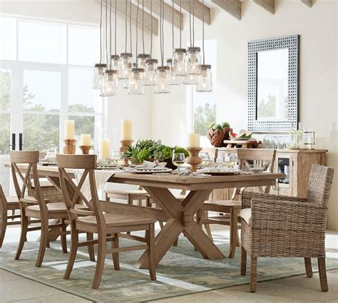 Pottery Barn Toscana Dining Table Toscana Extending Dining Table Seadrift Finish Pottery Barn