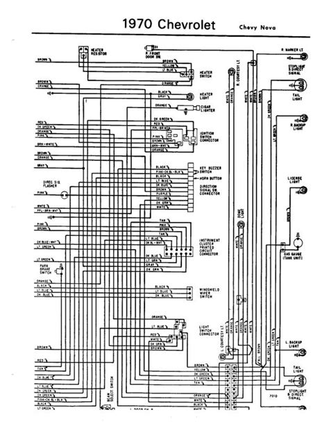 1970 chevelle wire diagram 1970 free engine image for