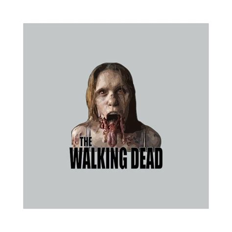 Tees The Walking Dead shirt the walking dead de mort vivant gris