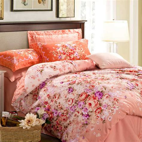 romantic bed floral design romantic bed set ebeddingsets