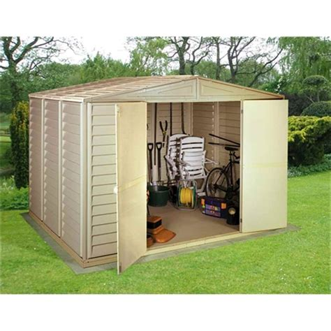 Duramax Plastic Shed by Shedswarehouse Madrid 10ft X 10ft Duramax Plastic