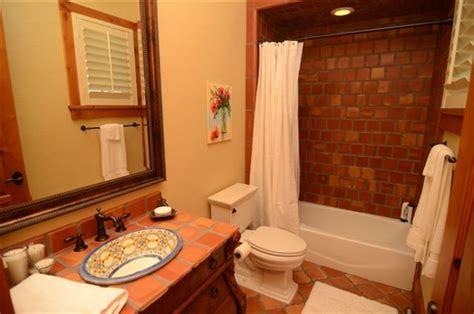 terracotta tiles bathroom terracotta bathroom bathroom austin by rustico tile