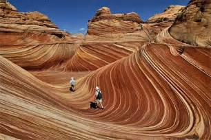 Arizona s wave rock formation a stone cold stunner