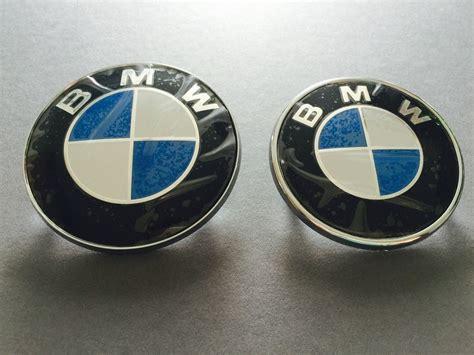 Bmw Motorrad Händler Aschaffenburg by Bmw Emblem Set 82mm 74mm V H Motorhaube Und