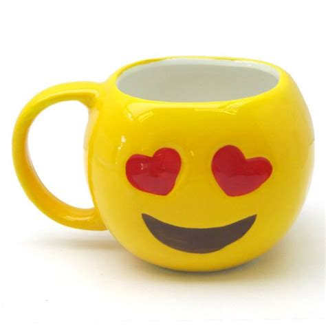 kitchen emoji emoji mug hearts create a her table and kitchen