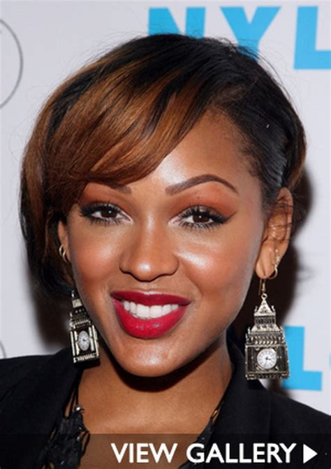 meagan good inspired hairstyle on short natural hair meagan good short hairstyles
