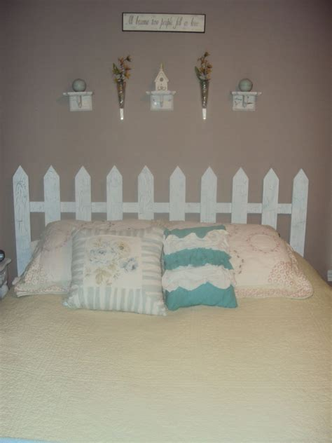 picket fence headboard plans   country  guide