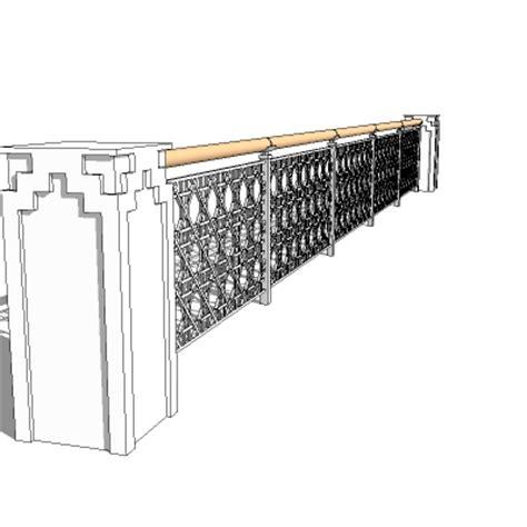 islamic pattern skp rail 3d model formfonts 3d models textures